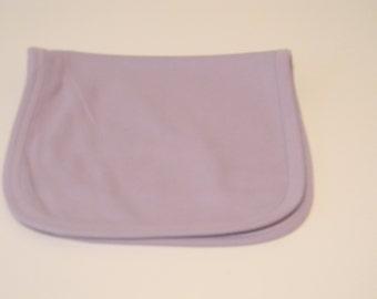 Burp Pad Embroidery Blank - Purple