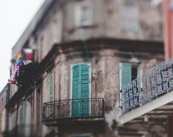 New Orleans Photography, Bourbon Street Photography, French Quarter, Southern print, Southern Gothic, new orleans print