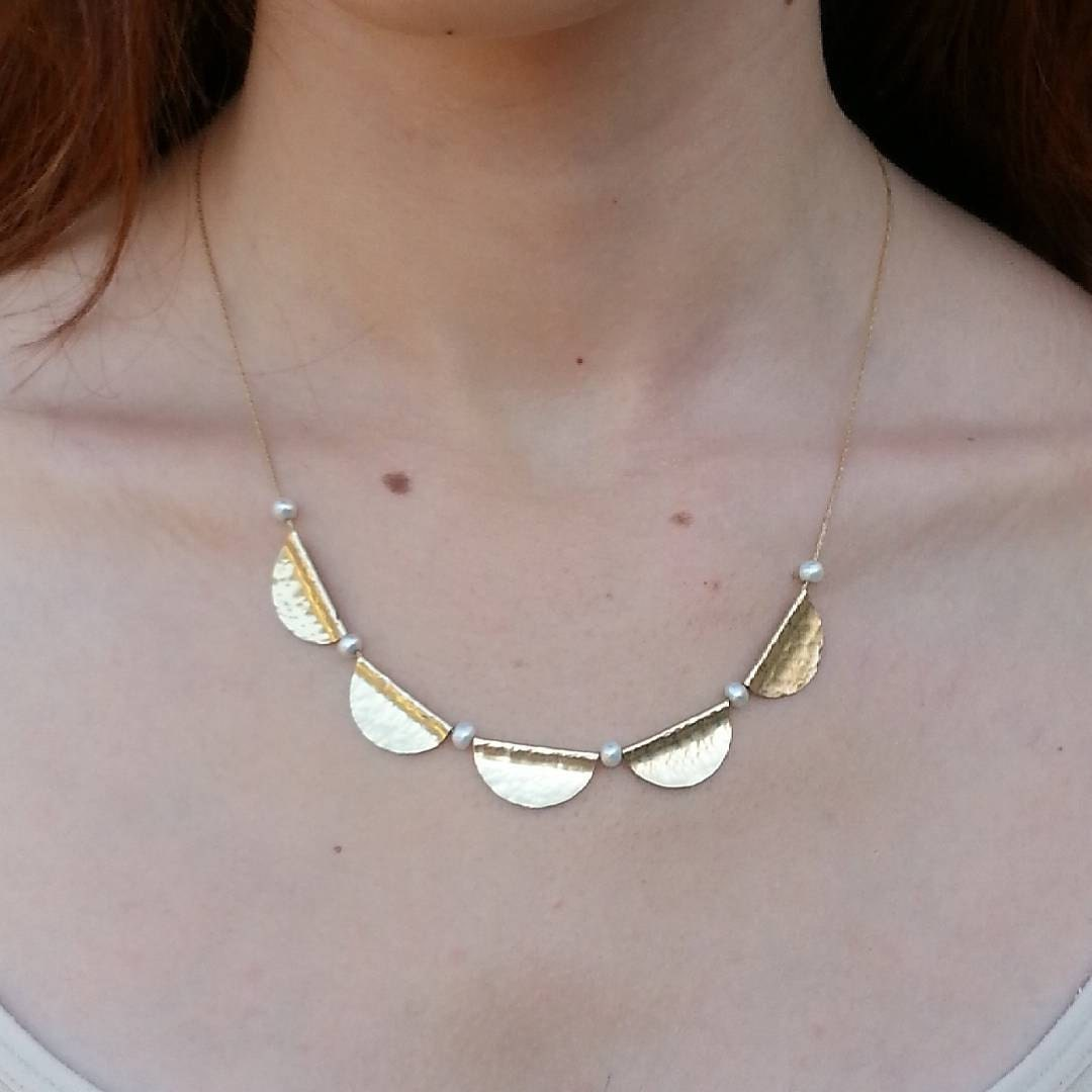 Dainty gold necklace for woman minimalist necklace gold for Women s minimalist jewelry