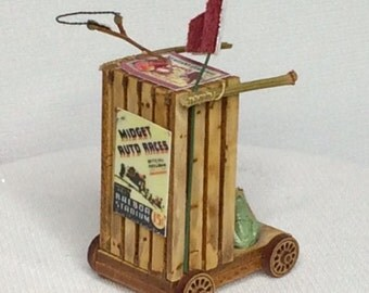 Dollhouse Miniature Scooter 2013 (VF)
