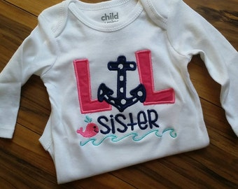 lil sister.. Embroidered shirt