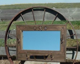 Rustic  Western Mirror