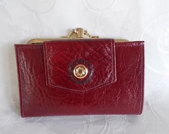 Vintage Di Lido Seville Cowhide Wallet