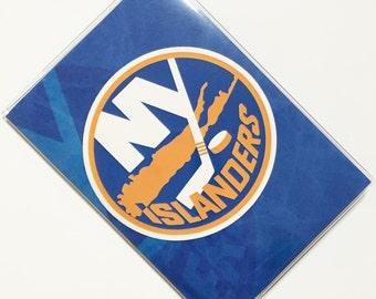Passport Cover Case Holder -- New York Islanders