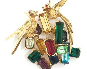 Vintage Boucher Bird Brooch