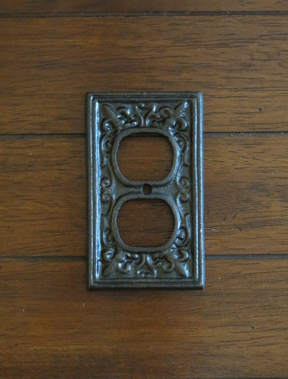 Decorative electrical outlet plate oil rubbed bronze or pick - Decorative wall plates electrical ...