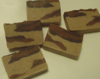 "All Natural Cold Process ""Terra Firma"" Handmade Soap"