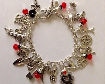 Horror Themed Charm Bracelet