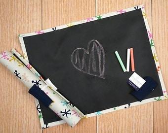 Travel Chalkboard Mat - Jacks