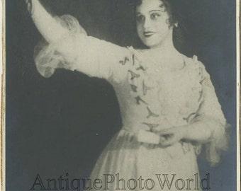 Valeria Barsova Russian opera singer antique photo