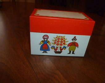 Cute Ohio Arts Recipe Box
