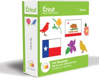New Cricut® Cartridge,  50 States