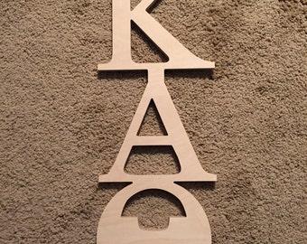 Kappa Alpha Theta Sorority Wooden Letters