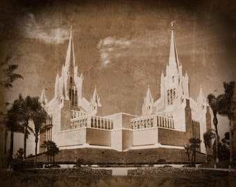 San Diego Temple Picture