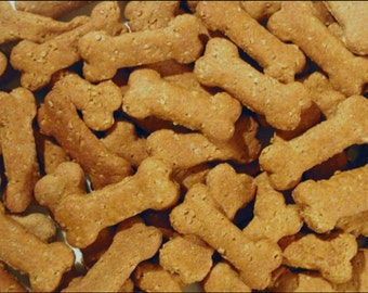 Dog Cookies - Peanut Butter Dog Treats  (Half Pound)