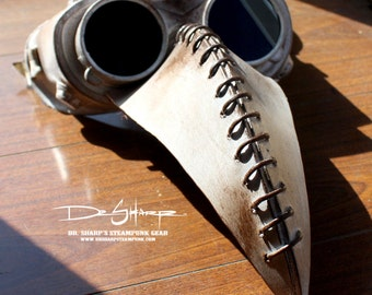 Plague Doctor's Mask (Tarnished White) by Dr. Sharp
