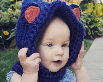 Baby Bear/Little Fox/Dragon Hood