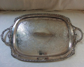 Metal  serving tray by Heritage Rodger