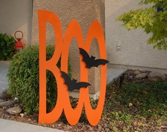 "Large Halloween ""Boo""  Decorative Sign"