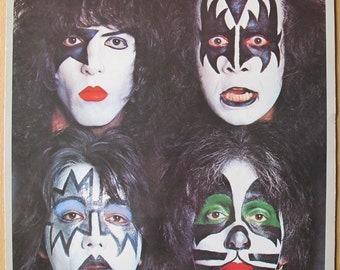 Kiss Dynasty LP record vinyl