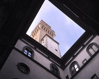 Florence Photography - Travel Photography - Palazzo Vecchio - Wall Art - Home Decor - housewarming gifts