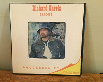 "Richard Harris ""Slides"" vinyl record"