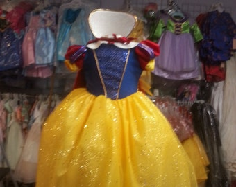 snow white toddler and children princess dress costume