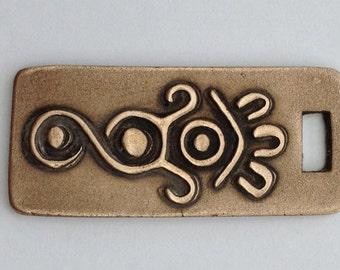 Pendant Bronze - Mexican Symbol (H211)
