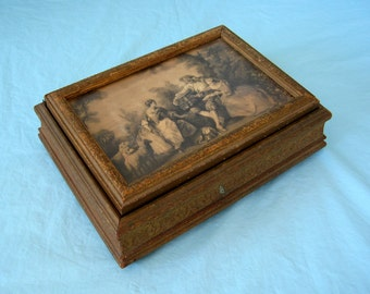 popular items for hinged wood box on etsy