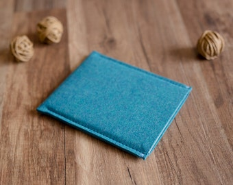 Kindle cover - Oasis, Fire, Voyage, Paperwhite cover case sleeve, turquoise felt