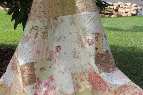 Vintage Garden Quilt PDF Pattern Easy To Follow Pattern