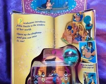 Disney Pocahontas Powhatan Home Polly Pocket Play-Set
