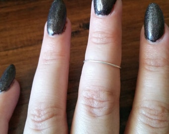 Delicate Sterling Silver Ring