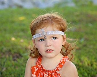 Purple headband, Seahorse headband, Mermaid headband, Ombre headband, Girl headband, Little mermaid headband, Ariel theme, Seahorse birthday