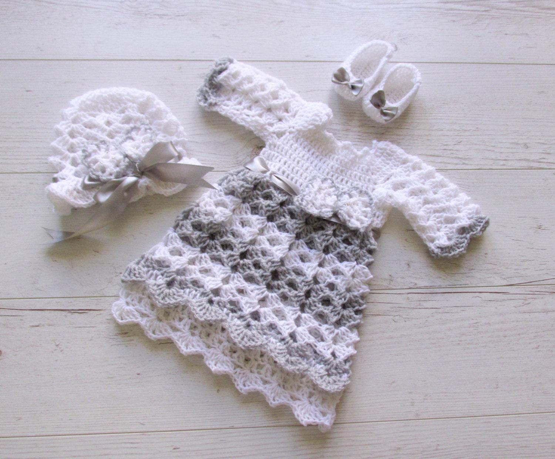 taufe baby kleid baby m tze schuhe kleid h keln baby kleid. Black Bedroom Furniture Sets. Home Design Ideas