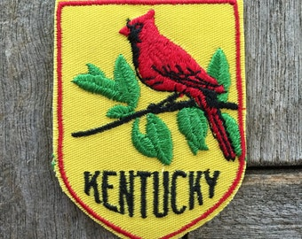 Kentucky Vintage Souvenir Travel Patch by Voyager