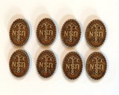 Laser Cut USN MCPO Charms - 8 Pieces