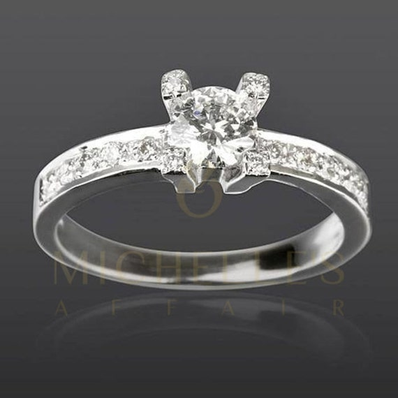 promise ring 1 carat certified d si2 solitaire