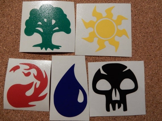 Planeshift Mtg Set Symbol: MTG Magic The Gathering Land Symbols