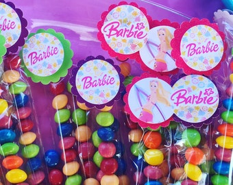 Beach Barbie unfilled candy bags. party favors or school favors