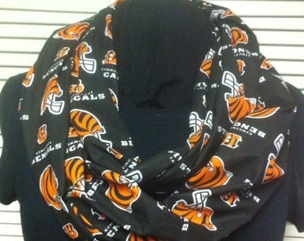 NFL Cincinnati Bengals Football Cotton Infinity Scarf