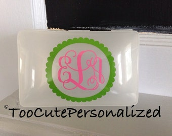 Personalized Pacifier, Crayon, First Aid Kit Case