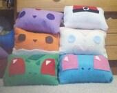 Pokemon icon pillows