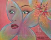 Fine Art Print Flower Spi...