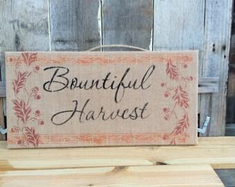Bountiful harvest