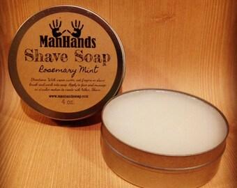 Rosemary Mint Shave Soap