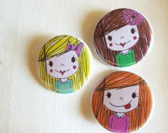 3 badges children miss