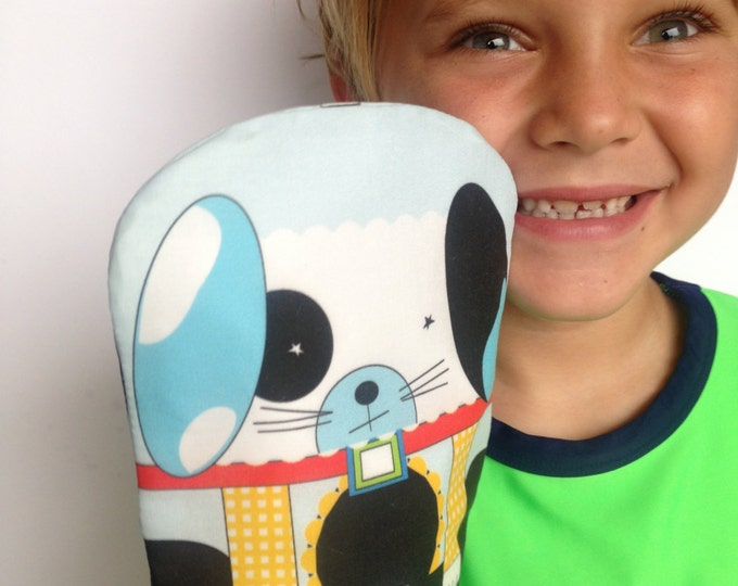 Reusable Snack Bag- SNUPPET™ snack puppet- Dog