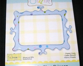 Curly Frame 655432 Sizzix Originals Die