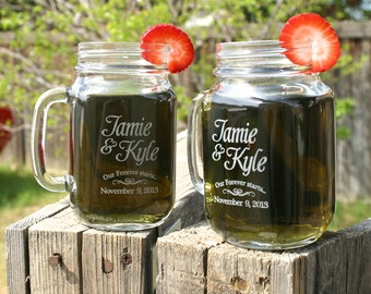 Wedding Favors, Personalized Sticker Labels, Mason Jar Labels, Personalized Sticker Labels, Clear Stickers